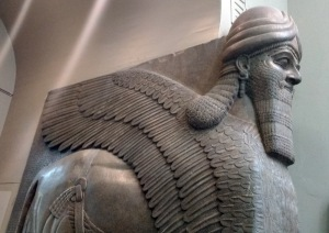 Assyrian 02 Human headed bull