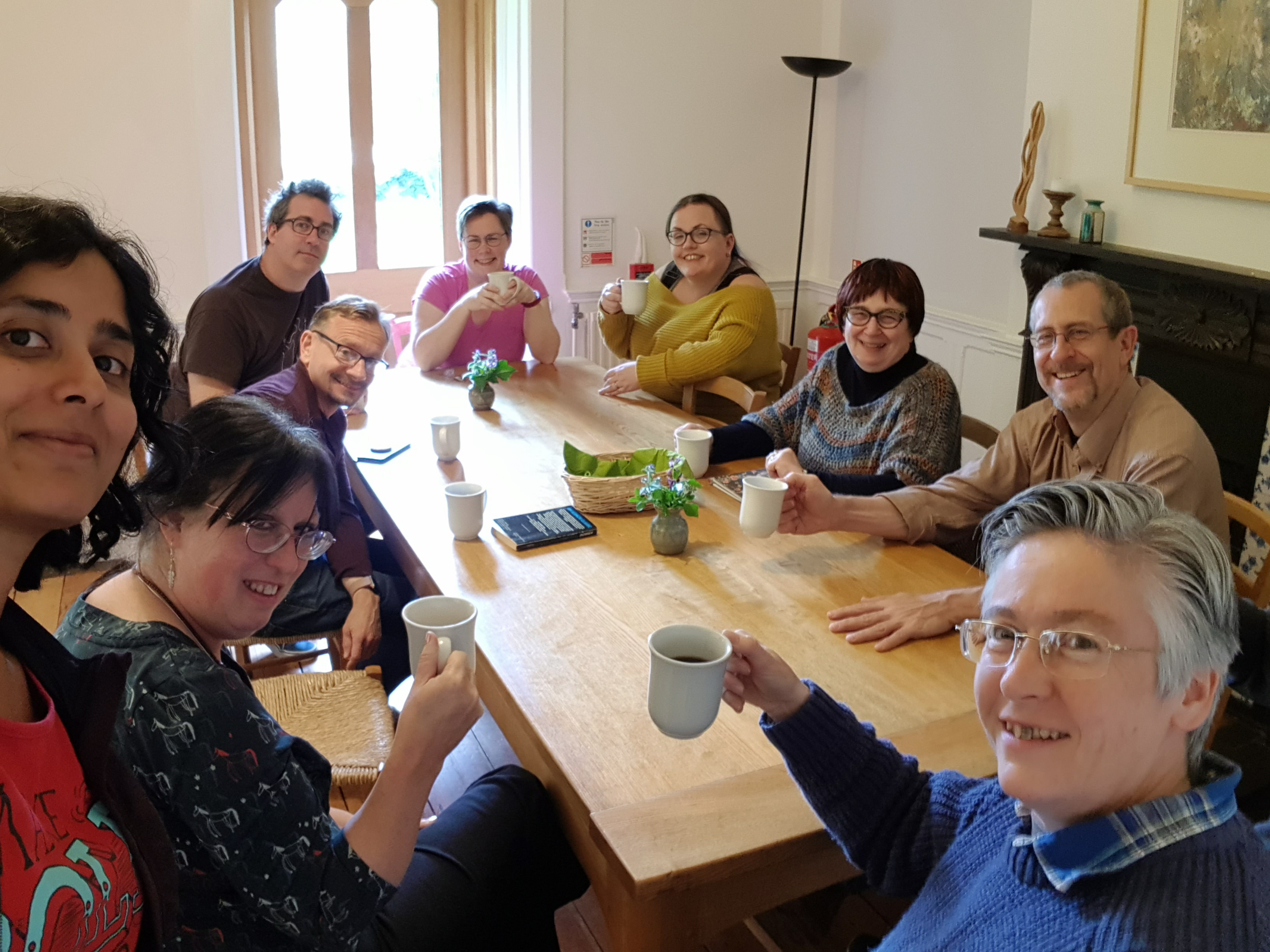 Retreat 2019 coffetime group